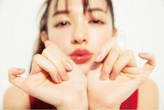 VOCE 2016年3月号 森絵梨佳 トップコート、大事! 指先のツヤもケアコスメで死守! Photoshoot Inspiration, Makeup Inspiration, Asian Make Up, Angelababy, Erika, Good Skin, Cute Girls, Pretty Girls, Asian Beauty