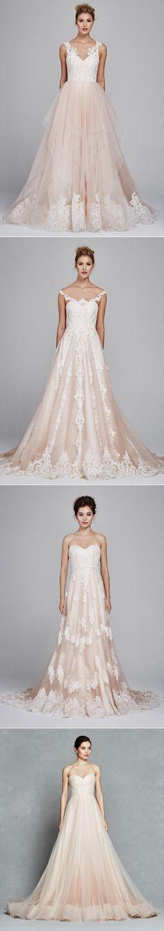 The prettiest BLUSH wedding dresses