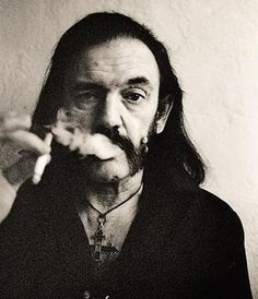 "Lemmy _ ""We want to be the band that if we moved in next door to you, your lawn would die."""