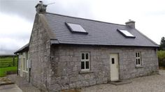 Stonecutters Cottage, Ballsallagh Lower, Hacketstown, Co. Carlow - House For Sale Barn Conversion Exterior, Cottage Extension, Extension Plans, Irish Cottage, Cottage Ideas, House Front, Model Homes, Detached House, Cottage Style