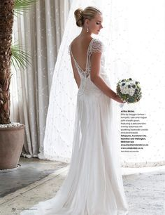 Maggie Sottero Ettia | Great Gatsby gown | Available from Astra Bridal |