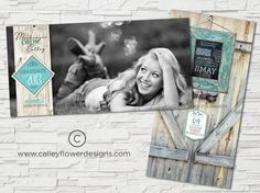 Graduation Announcement  Rustic and Earthy with a by CalleyFlower, $15.00
