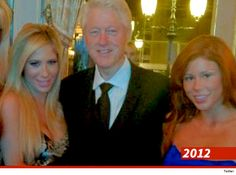 Bill Clinton — Surrounded by Hookers | pundit from another planet