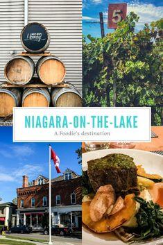 Niagara-on-the-lake, a foodie's destination