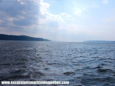 Le fleuve St-Laurent dans toute sa splendeur. On vous le fera découvrir chez Excursions Maritimes Québec.
