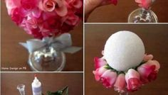 All of us love flowers, and we often use flower arrangements to decorate their room or celebrate as symbols for love, friendship, weddings and funeral. Here are 40+ Creative Flower Arrangement Idea...