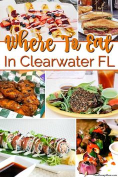 Where to eat in Clearwater Florida - Looking for the best places to eat in Clearwater? From crab fries at Frenchy's to fine dining overlooking the water, these are some of our favorite Clearwater restaurants! Clearwater Restaurants, Clearwater Florida, Crab Fries, Steak Dinner Sides, Salmon Tacos, Gourmet Recipes, Gourmet Desserts, Gourmet Foods, Nigerian Food
