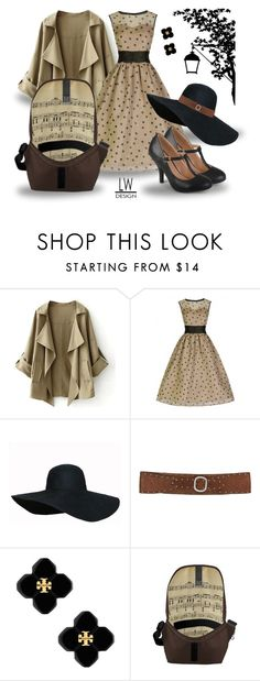 """""""The lady Has Class and Loves Music"""" by kashmier ❤ liked on Polyvore featuring Journee Collection, BKE, Tory Burch, zazzle and leatherwooddesign"""