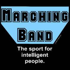 Marching Band Humor | Blue Marching Band Sport Mens Shirts | Funny Musician