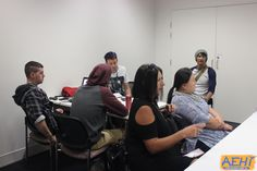 Group brainstorming to come up with a Banana Flavoured Milk logo and intro theme to the show.  #aehiqld #bananaflavouredmilk #bfm #comedy