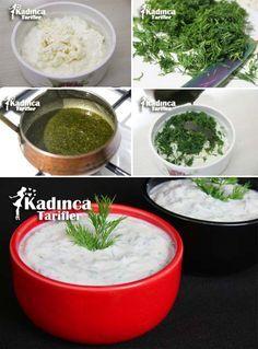 Haydari Tarifi Homemade Beauty Products, Appetisers, Palak Paneer, Nom Nom, Vitamins, Food And Drink, Health Fitness, Ethnic Recipes, Desserts