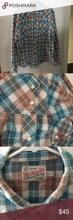 TRUE RELIGION Selling my TRUE RELIGION shirt large size in good condition True Religion Shirts Casual Button Down Shirts