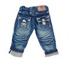 Aweeeee, these jeans for little boys are to die for.