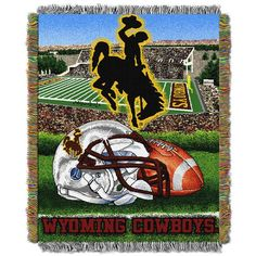 Use this Exclusive coupon code: PINFIVE to receive an additional 5% off the University of Wyoming HF Tapestry Throw at SportsFansPlus.com