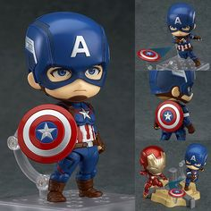 Nendoroid 618 Captain America Hero's Edition from The Avengers: Age of Ultron Good Smile Company [PRE-ORDER]   Item will be available on mid November 2016, order now from: http://www.figurecentral.com.au/products/nendoroid-618-captain-america-heros-edition-from-the-avengers-age-of-ultron-good-smile-company-pre-order?variant=17863714113  #nendoroid #captainamerica #theavengers #marvel #goodsmilecompany #figurecentral