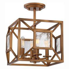 Designers Fountain Athina 89411 Semi Flush Mount Light - 89411-GB
