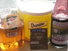 Easy Home Made Wine from Fruit Juice