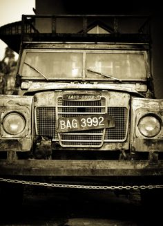 a Land Rover...still one of my objects of desire
