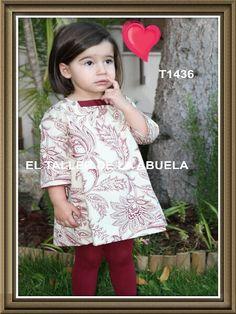 Ropa de niños - Vestidos de niña - little fashion dresses. www.eltallerdelaabuela.es