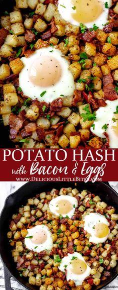 Healthy Breakfast Casserole, Delicious Breakfast Recipes, Savory Breakfast, Brunch Recipes, Dinner Recipes, Breakfast Wraps, Waffle Recipes, Sweet Breakfast, Casserole Recipes