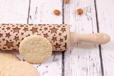 We are glad to present a new brand of laser engraved rolling pins and biscuit stamps – MOOD for WOOD. Stars shining bright above you...    Inside the