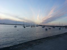 Dun Laoghaire Harbour on a beautiful evening. We are surrounded by such beauty in nature and I am so very glad that my husband, Eugene, took this photo for me. May 2013 Canon 1000d, I Love Cats, My Photos, Husband, Journey, Singer, Beach, Water, Pictures