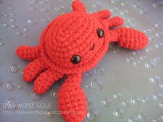 Crab Amigurumi pattner by AwkwardSoul (4)