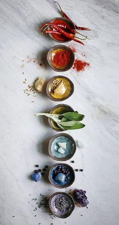Chakra Bowls #ceramic