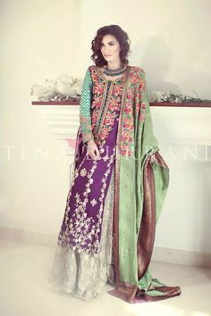 Latest bridal collection by Tena Durrani