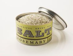 Beautiful Briny Sea: Rosemary Salt