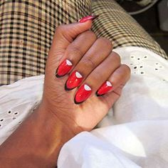 The Ruffian & MAC Nails are Frisky #fashion trendhunter.com