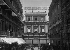 Rua do Carmo, Hotéis de Antanho, Hotel de l'Europe, 1910.
