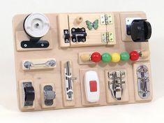 Travel Board Toddler Baby Busy Board Montessori Fidget Sensory