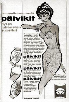 Suomen Trikoon Päivikit - Kotiliesi 21/1963
