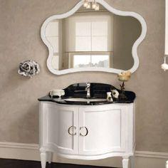 Vanity, Mirror, Bathroom Ideas, Furniture, Feels, Home Decor, Powder Room, Lounges, Houses