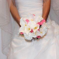ramo-calas-rosas-madera-rosas3 Calla Lilies, Wedding Bouquets, Boyfriends, Wood