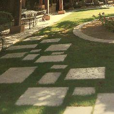 Concrete large paving blocks