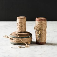 Twine Spools with Scissors | Magnolia Market | Craft Room | Chip & Joanna Gaines | Waco, TX