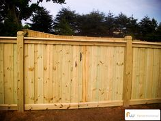 Spartan Wood Privacy Fence8