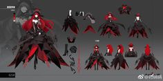 Character Sheet, Game Character, Character Concept, Fantasy Characters, Female Characters, Anime Characters, Female Character Design, Character Design Inspiration, Anime Dress