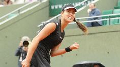 She does it! No.7 @anaivanovic returns to the QFs w/ a 7-5 3-6 6-1 victory over #Makarova. #RG15.