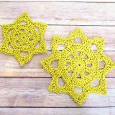 Chunky Crochet Doily Patterns (2 sizes)