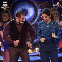 Deep ♥ and Salman Khan #BiggBoss9 ♥