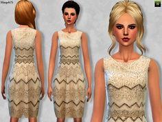 Sims Addictions: Sims 4 Sparkle Dress