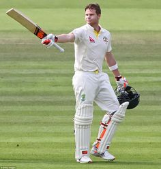 LAWRENCE BOOTH AT LORD'S: Steve Smith and Chris Rogers dominated on the first day as Australia took a commanding lead in the second Ashes Test at Lord's. Test Cricket, Cricket Sport, Ab De Villiers Photo, Cricket Wallpapers, Dhoni Wallpapers, World Cricket, Steve Smith, Sport Icon, Just A Game
