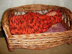 Dukketøj Baby Born strikket sovepose