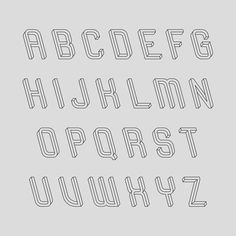 2 | A Brain-Breaking Typeface Where Every Letter Is An Optical Illusion | Co.Design: business + innovation + design