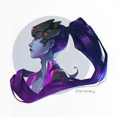 ArtStation - Widowmaker, Zaiisey (Ana Viana) <<< love it Overwatch Widowmaker, Overwatch Fan Art, Anime Girl Hot, Video Game Art, Video Games, Manga, Female Characters, Art Tutorials, Fan Art