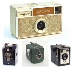 redblackbrown: Vintage Camera Love