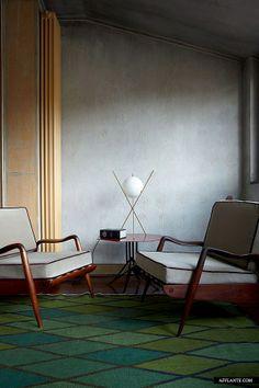 Fusion Style Apartment of Nina Yashar, Nilufar Design Gallery Owner
